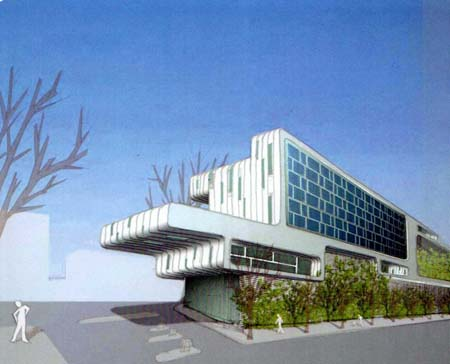 La nueva gasolinera se ubicará en la planta baja de un edificio de oficinas