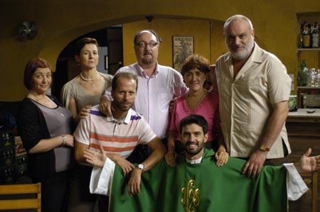 Equipo de la serie Padre Medina