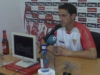 Jiménez dará la lista de convocados a lo largo del día/SevillaFC
