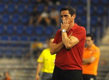 Manolo Jimñenez declaró en la previa del partido que es