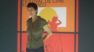 La directora francesa presentó en el Lope de Vega Partir, su último film/JAPerez