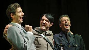 Una de las escenas de 'Hendaya, el musical'