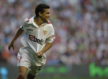 Jesús Navas puede debutar hoy como internacional con la Selección Española
