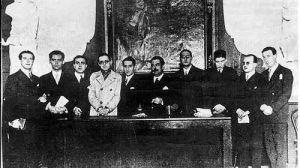 Primera foto oficial de los poetas del 27 en el Ateneo de Sevilla/juntadeandalucía