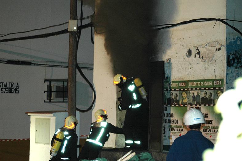 Incendio en un transformador / Archivo SA