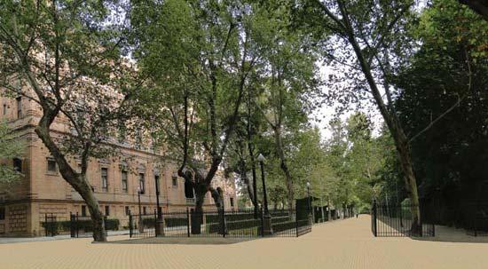 La Avenida Isabel la Católica será peatonal por completo en agosto de 2010