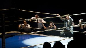 La obra Urtain revivie la transición española desde un ring de boxeo