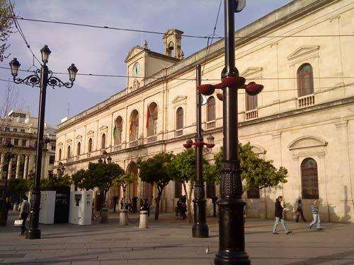 El Ayuntamiento de Sevilla podrá visitarse con motivo del 30 aniversario de la Autonomía de Andalucía/Christopher Rivas