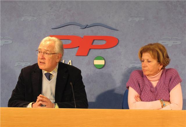 Jaime Reynaud y Lola Calderón