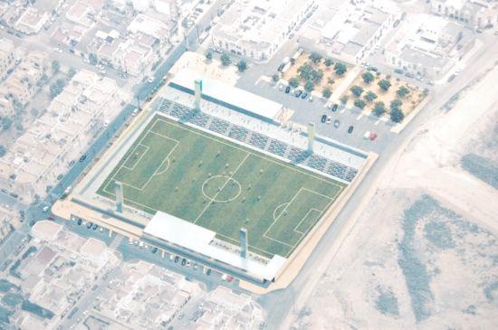 Imagen virtual del futuro estadio de fútbol/SA