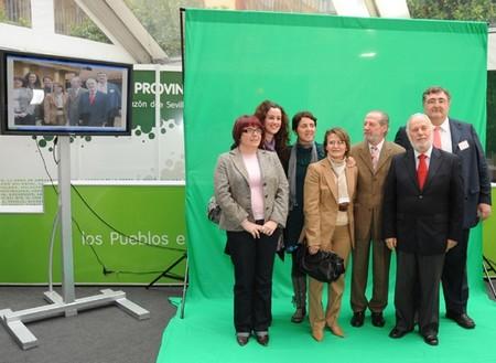 El presidente de la Diputación, Fernando Rodríguez Villalobos, ha inaugurado estas jornadas junto a otras personalidades políticas. /SA