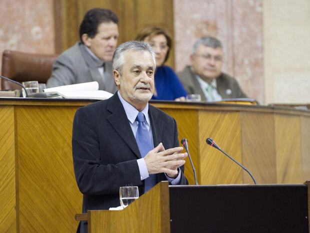 José Antonio Griñán, Presidente de la Junta/SA
