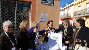 Los vecinos de Tomares se han volcado con la campaña