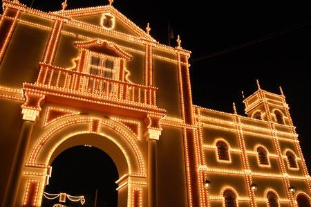 A principios del siglo XX la portada de la Feria se levantaba en los Cuatro Cantillos/SA.