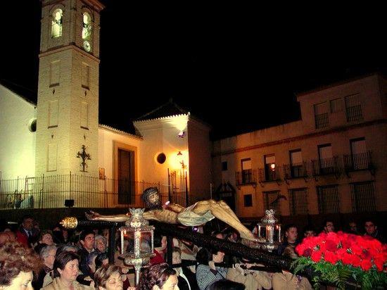 El Via Crucis presidido por el Cristo de la Vera Cruz comenzará a las nueve de la noche desde la Parroquia de Gines/Hermandad Sacramental