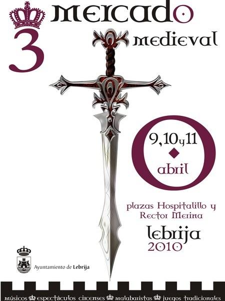 Cartel de la III edición del Mercado Medieval de Lebrija./SA