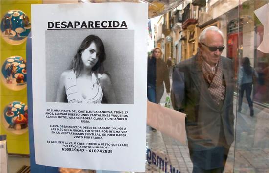Cartel Marta del Castillo