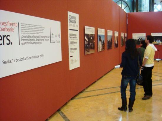 La exposición permanecerá en la Fundación Tres Culturas hasta el 15 de mayo/Paco Cordero