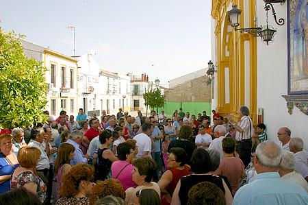 NIVA convocó una manifestación el año pasado contra la subida de la contribución en Castilblanco