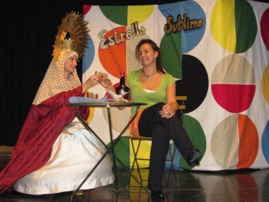 'Estrella Sublime' hace de la Inmaculada Concepción una mujer normal y corriente. /salacero