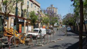 La calle Bailén tendrá un único sentido hasta que finalicen las obras/AyuntAlcala.