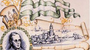 Detalle del azulejo del pueblo de Cantillana en recuerdo y homenaje a Blas Infante / Juan C. Romero