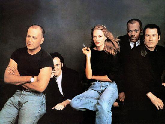 Imagen del cartel de Pulp Fiction