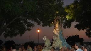 Santa María del Águila, patrona de Alcalá, cuenta con muchos devotos en la ciudad
