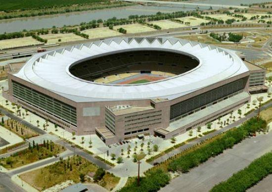 Estadio Olímpico de Sevilla donde se celebró el concierto de U2