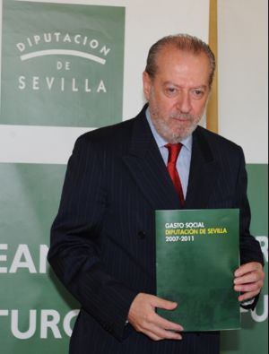El presidente de la Diputación presenta las consignaciones al gasto social