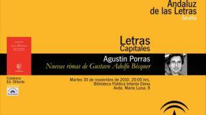 La publicación que será presentada en hoy en Sevilla, descubre trece nuevas rimas del poeta romántico/bibliotecainfantaelena
