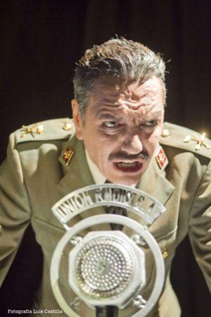 Antonio Dechent protagoniza la obra con el papel de Queipo de Llano