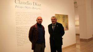 Claudio Díaz y Carlos Márquez en la Casa de la Provincia