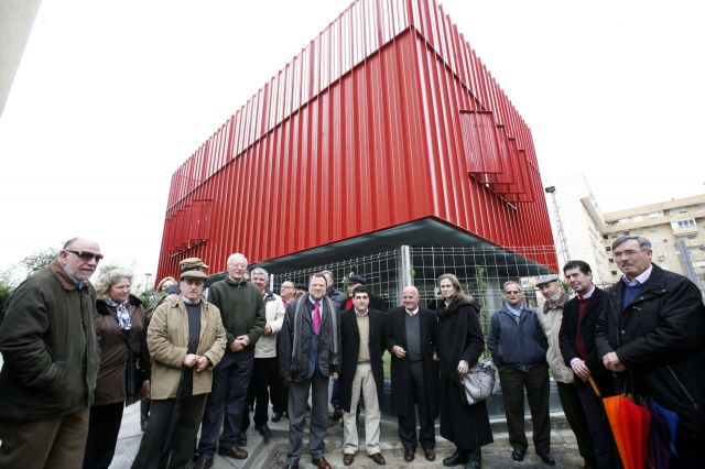 El edificio, en Macarena Tres Huertas ha sido ya finalizado por Emvisesa/SA