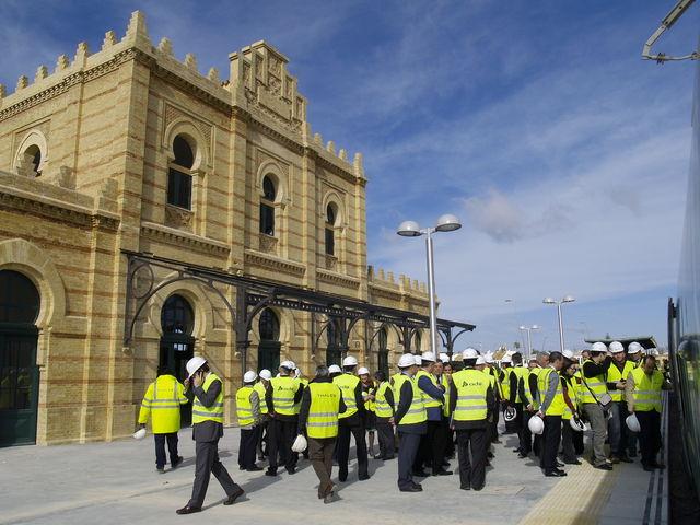 Las autoridades han visitado todas las estaciones que componen el trazado de la nueva línea C-5 de cercanías/SA