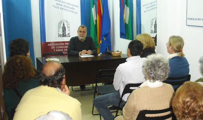 Antonio Rodrigo Torrijos durante su reunión con 'Al-Andalus'