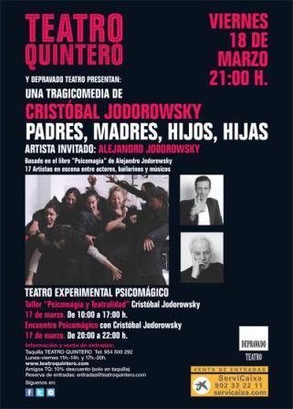 Los tres eventos se realizarán en el Teatro Quintero. /TeatroQuintero