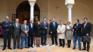 El alcaldable socialista ha participado de la última reunión presidida por el actual alcalde