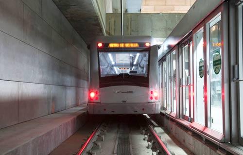 26 millones de viajeros suma ya en dos años, la línea 1 del Metro de Sevilla
