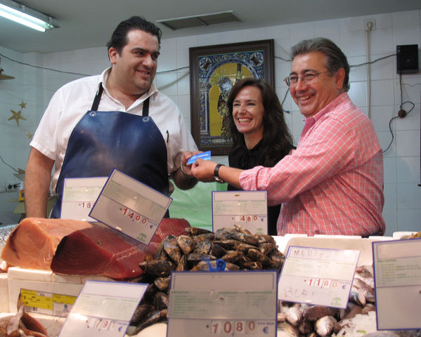 Teresa Jiménez Becerril junto a Juan Ignacio Zoido