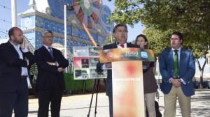 El candidato del PP propone dar un uso permanente al espacio de la Feria
