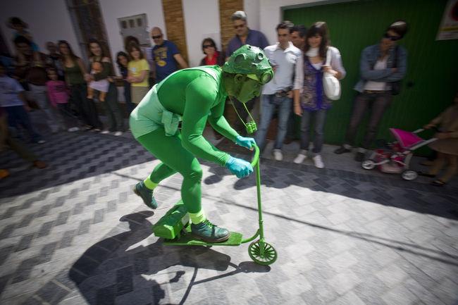 'El hombre verde' representación de A. Schvarzstein/SA
