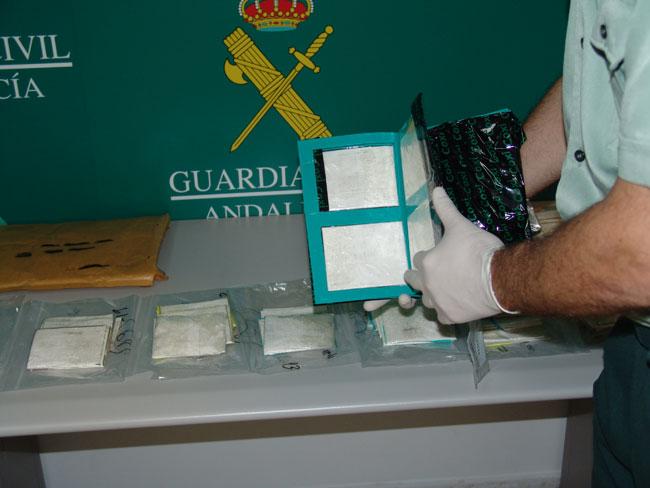 3,3 kilos de cocaína se han incautado en la operación