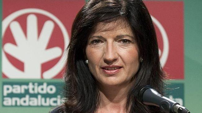 Pilar González, secretaria general del Partido Andalucista