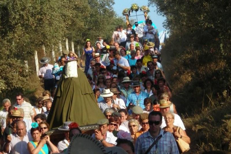 La Virgen de Escardiel regresará a su Ermita el segundo fin de semana de Septiembre coincidiendo con la celebración de su tradicional Romería / Sevilla Actualidad