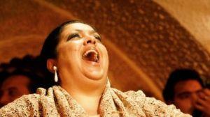 Angelita Montoya en una actuación /LaBienal