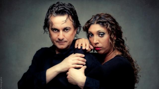 Javier Barón y Esperanza Fernández en 'Arrabales' /Luis Castilla