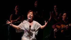 La cantaora Carmen Linares en una actuación /LaBienal