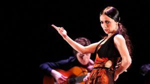 La bailaora Olga Pericet en una actuación de 'Rosa Metal Ceniza' / Javier Fergo