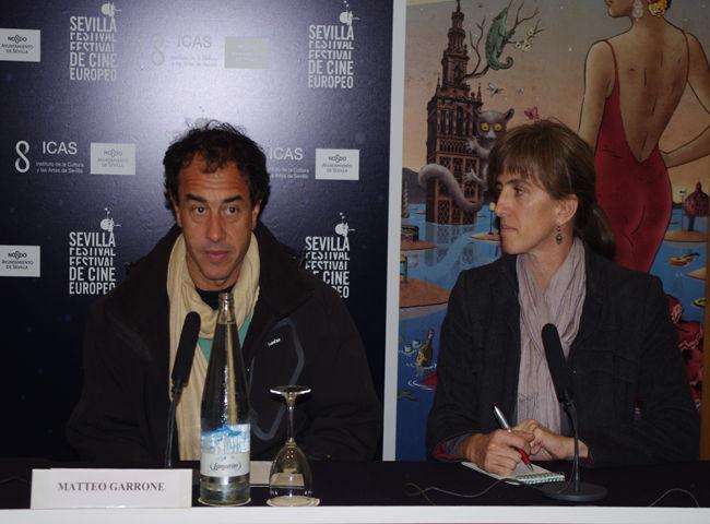 Matteo Garrone durante su rueda de prensa/Ángel Espínola